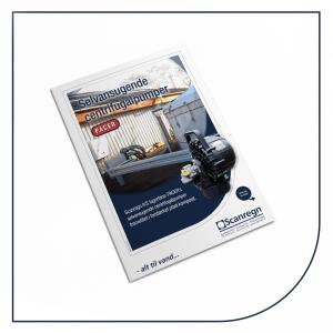 PACER selvansugende centrifugalpumper - Produktblad fra Scanregn A/S