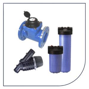 Vandmålere, jordvarmbrønde og vandfiltre