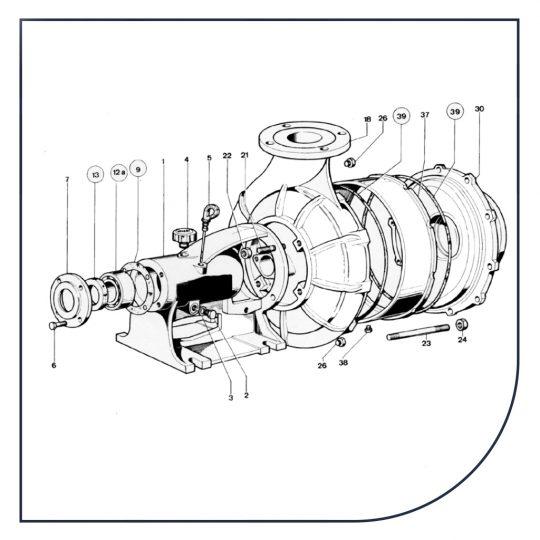 Resservedele til pumper