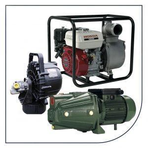 Selvansugende pumper fra Sealand, Honda og Pacer