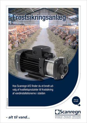 Frostsikringsanlæg - Produktblad fra Scanregn A/S
