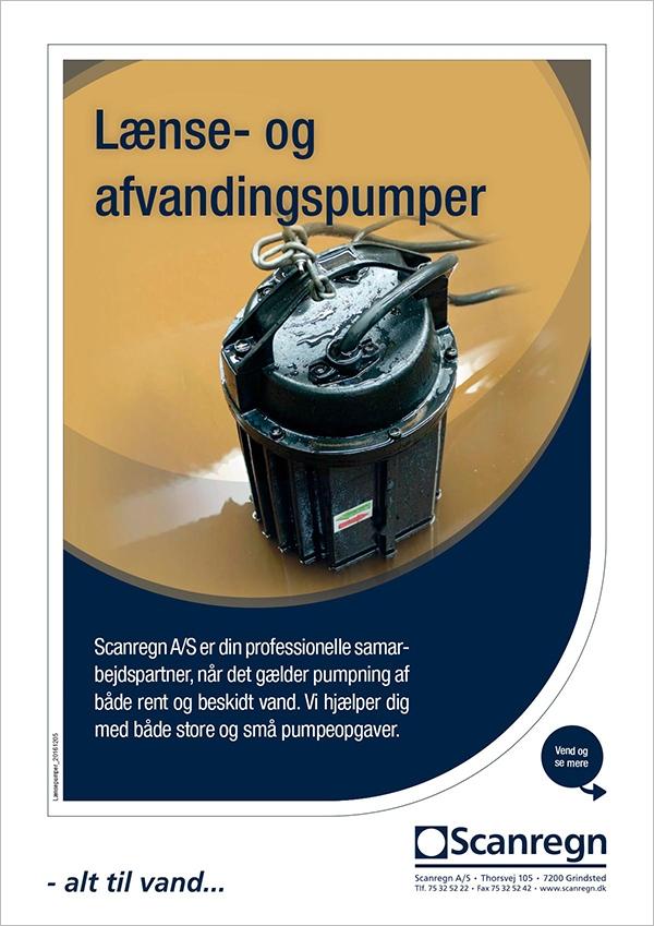 Lænse- og afvandingspumper - Produktblad fra Scanregn A/S
