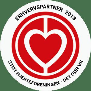 Vi støtter Hjerteforeningen