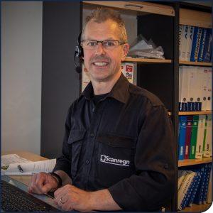 Knud Erik Linnebjerg, Scanregn A/S