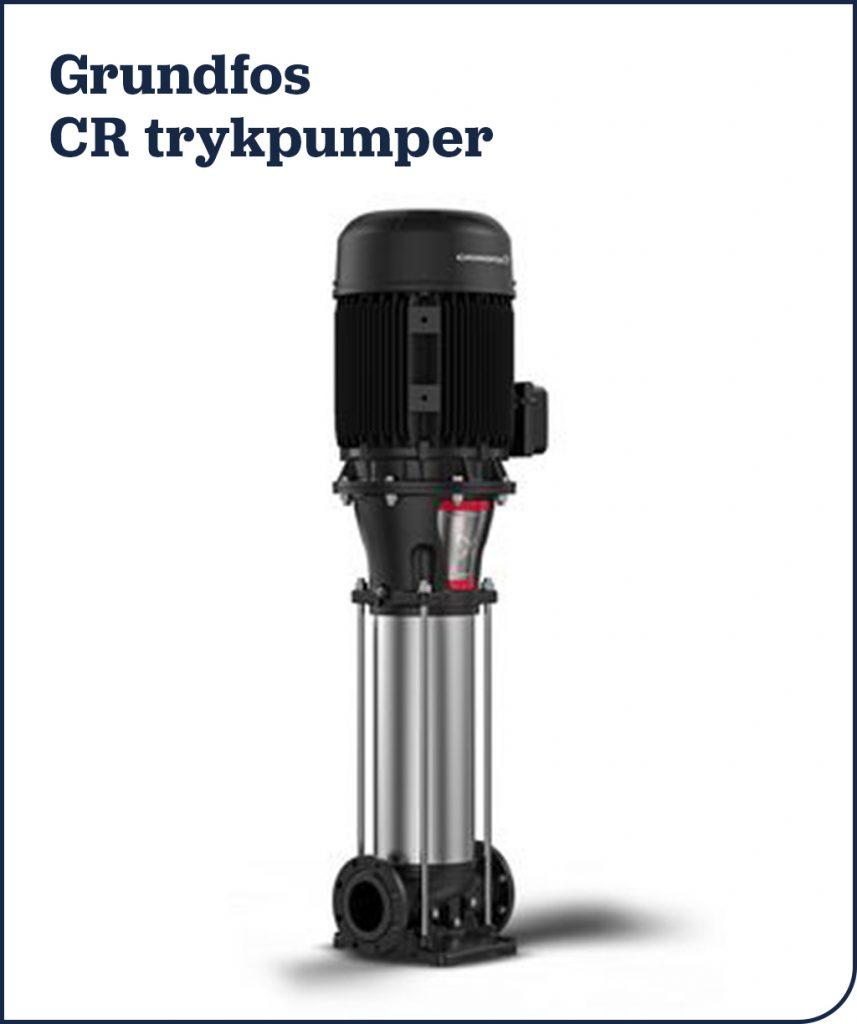 Grundfos CR trykpumper