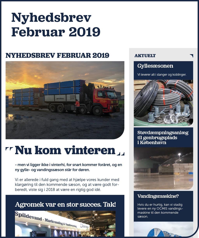 Nyhedsbrev - Februar 2019