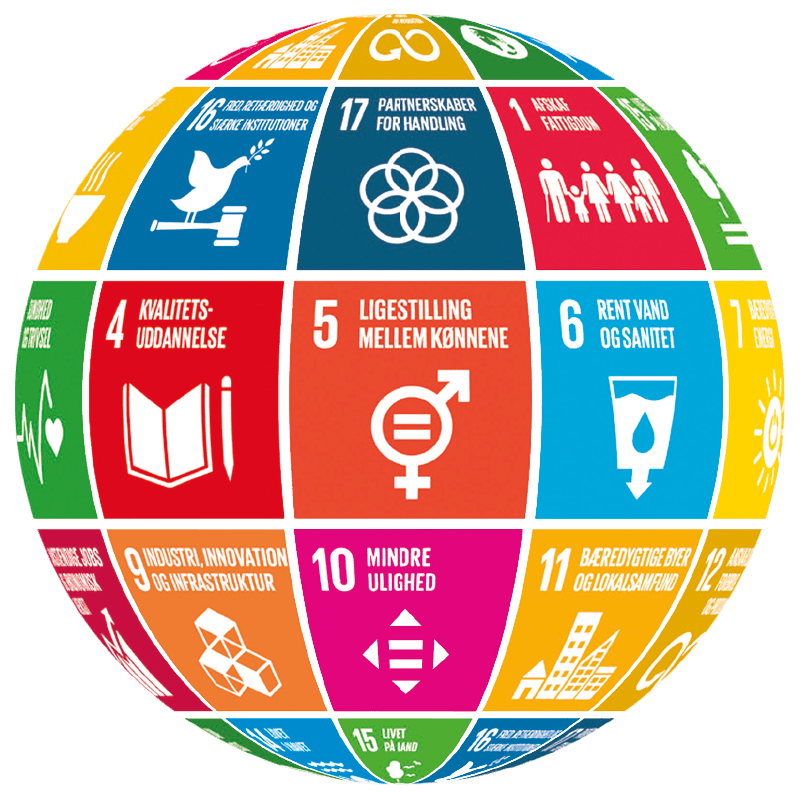 FN's Verdensmål - Globus