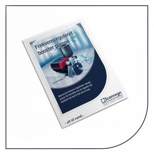 Grundfos frekvensreguleret pumpe - Produktblad fra Scanregn A/S