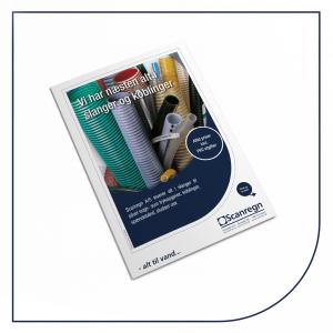 Slanger og koblinger - Produktblad fra Scanregn A/S
