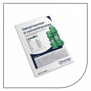 Rovatti støbejernspumpe - Produktblad fra Scanregn A/S