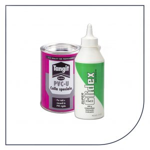 PVC lim og glidemiddel