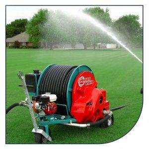 Ocmis Micro Rain vandingmaskine til gartnerier og grønne arealer