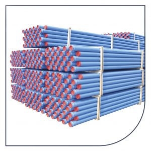 PVC trykrør
