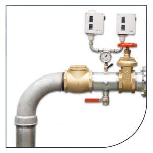 Stålrør, ventiler og fittings