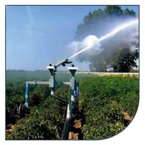 Vandingskanoner og sprinklere