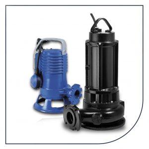 Zenit GR, GRI og GRN pumper