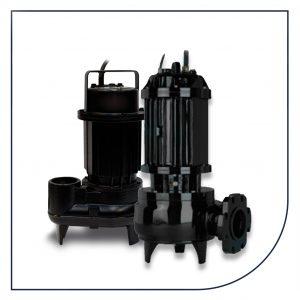 Zenit DGO og DGP pumper med fritstrømshjul