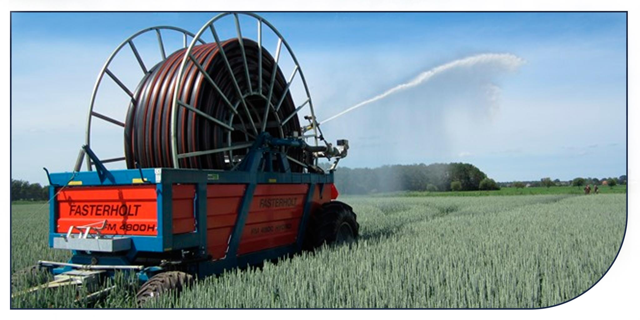 Scanregn A/S leverer vandingsmaskiner fra Fasterholt