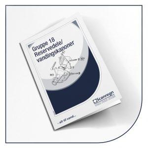Katalog gruppe 18 - Reservedele til vandingskanoner