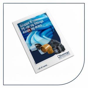 PE slanger og fittings - Produktblad fra Scanregn A/S