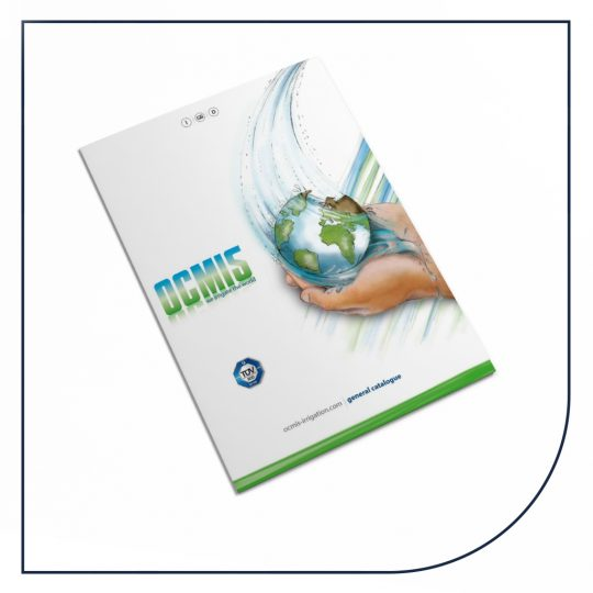 Ocmis brochure med vandingsmaskiner