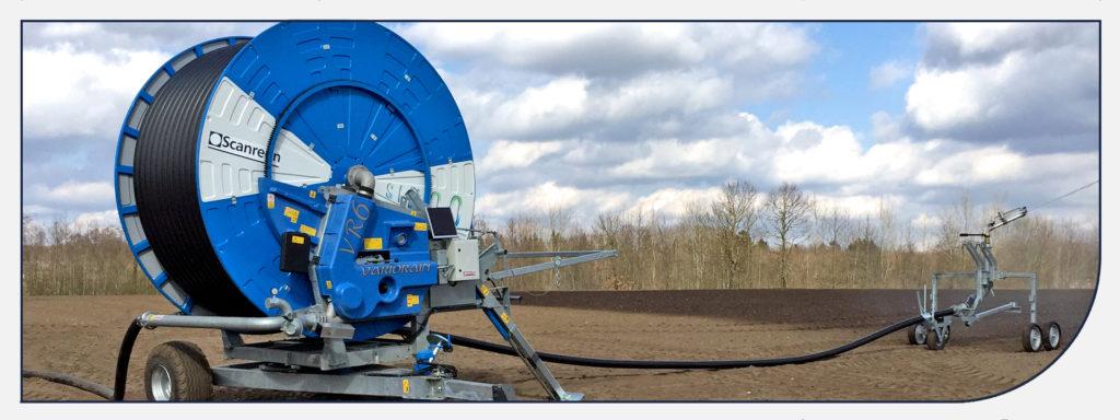 Vandingsmaskiner til markvanding fra Scanregn