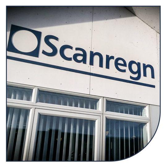 Salgs og administration og Scanregn i Grindsted