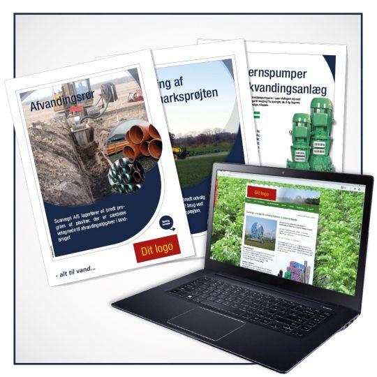 Scanregn A/S hjælper dig med gratis markedsføringsmateriale