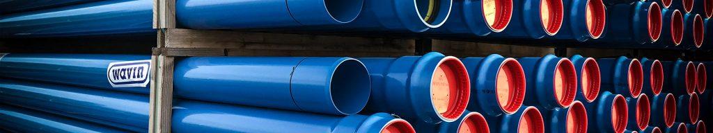 Rør til vandingsanlæg, kloak, spildevand, byvand, afvanding og meget mere.