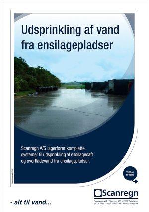 Udsprinklingsanlæg til ensilagepladser - Produktblad fra Scanregn A/S