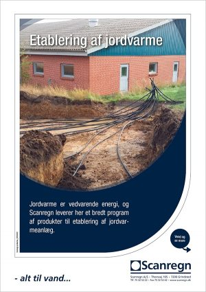 Etablering af jordvarme - Produktblad fra Scanregn A/S