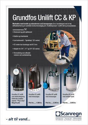 Grundfos Unilift CC og Unilift KP