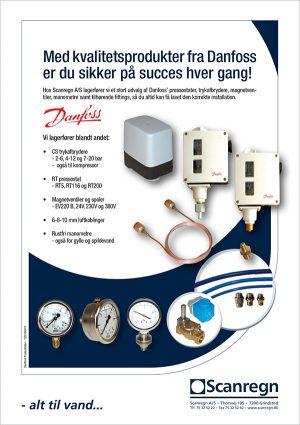 Danfoss kvalitetsprodukter - Produktblad fra Scanregn A/S