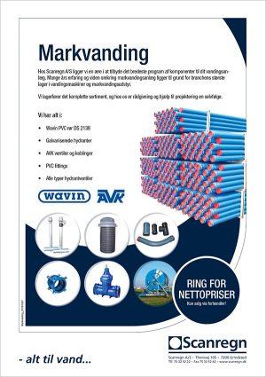 Markvanding - Produktblad fra Scanregn A/S