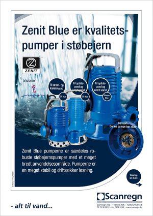 Zenit Blue - Produktblad fra Scanregn