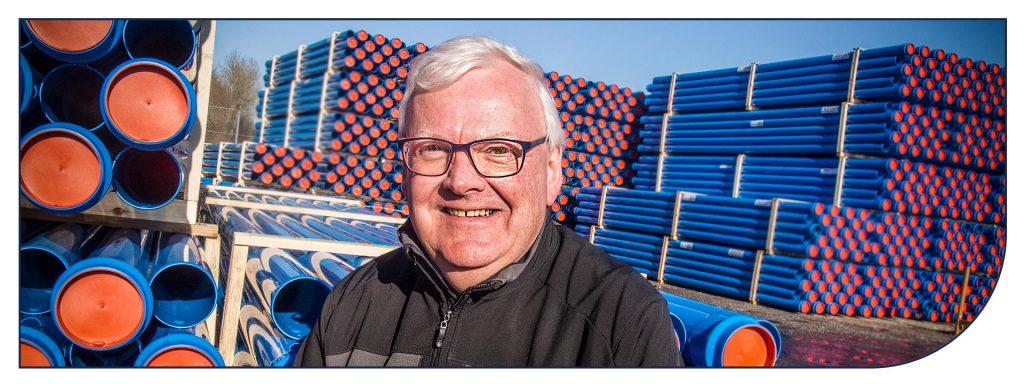 Poul Madsen starter pr. 1. marts som Produktspeciallist hos Scanregn A/S i Grindsted.
