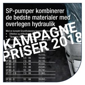 Kampagnepriser på markvandignspumper