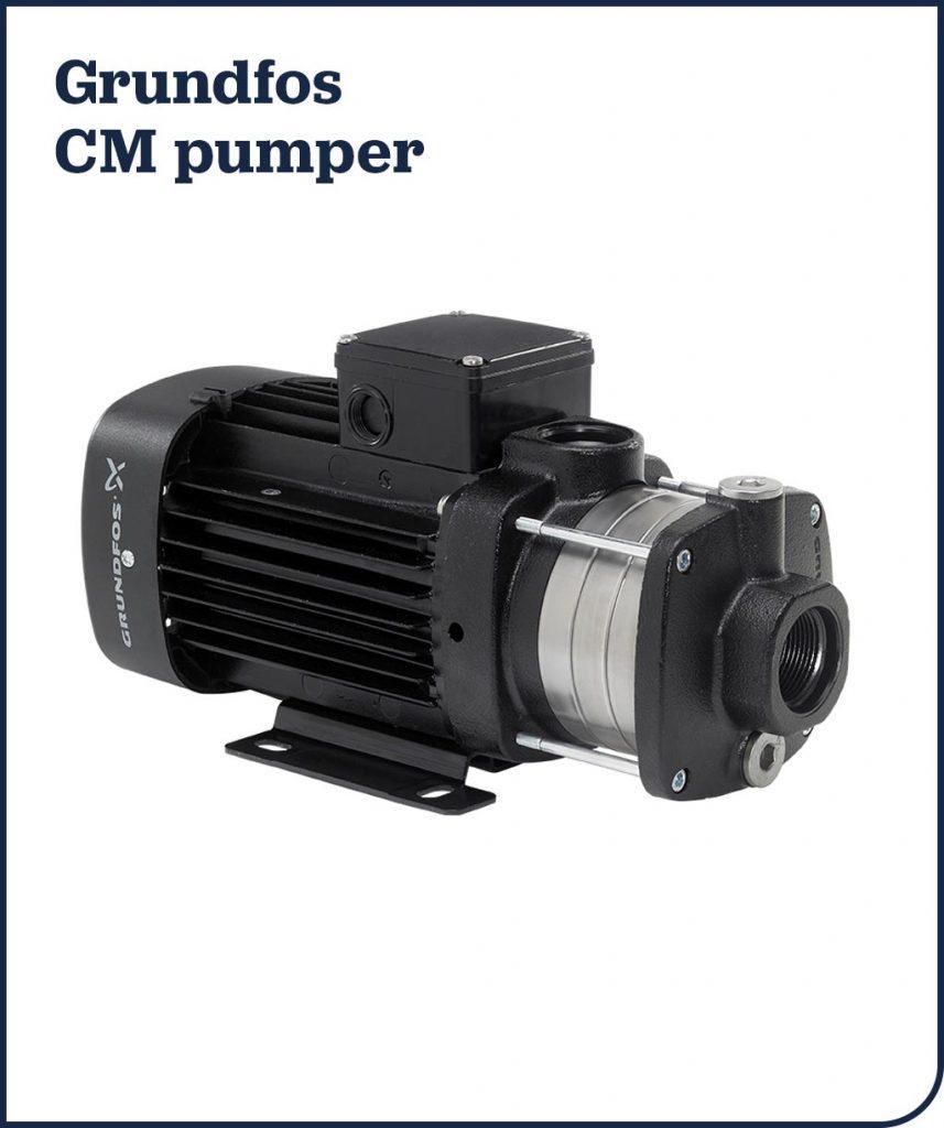 Grundfos CM pumper