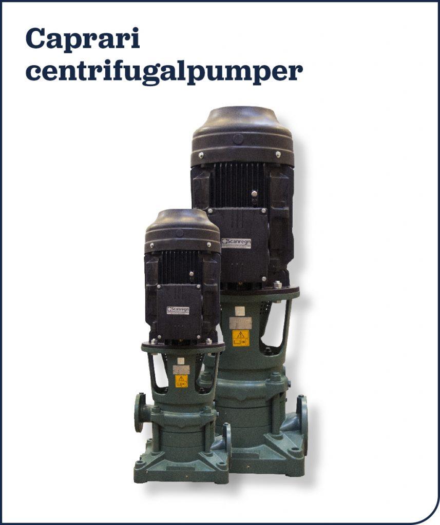 Caprari centrifugalpumper