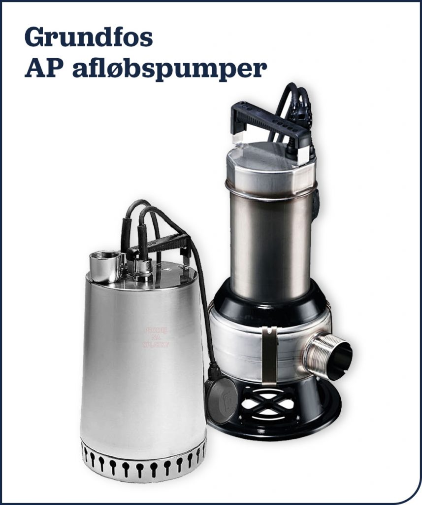 Grundfos AP afløbspumper