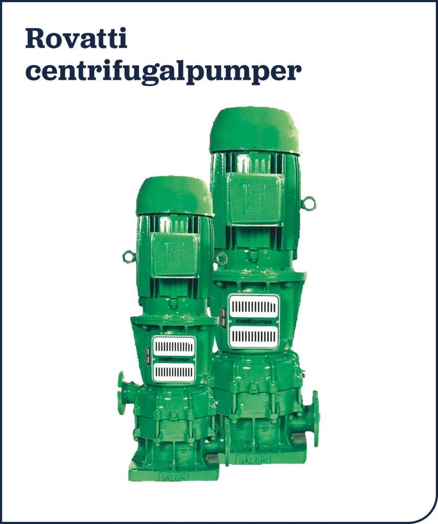 Rovatti centrifugalpumper