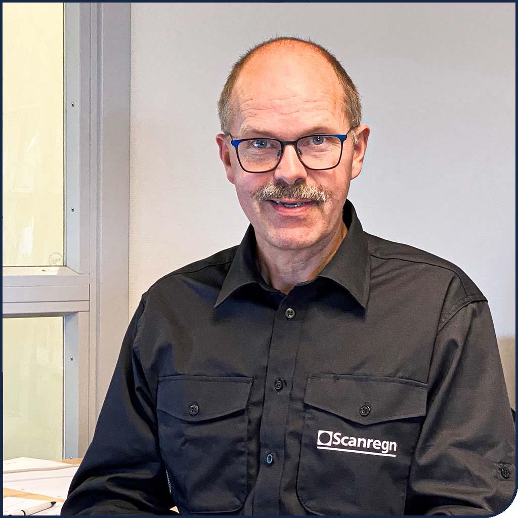 Søren Grøn, Salg, Scanregn A/S i Grindsted